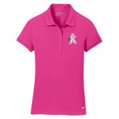 - Golf Ladies Dri FIT Solid Icon Pique Polo